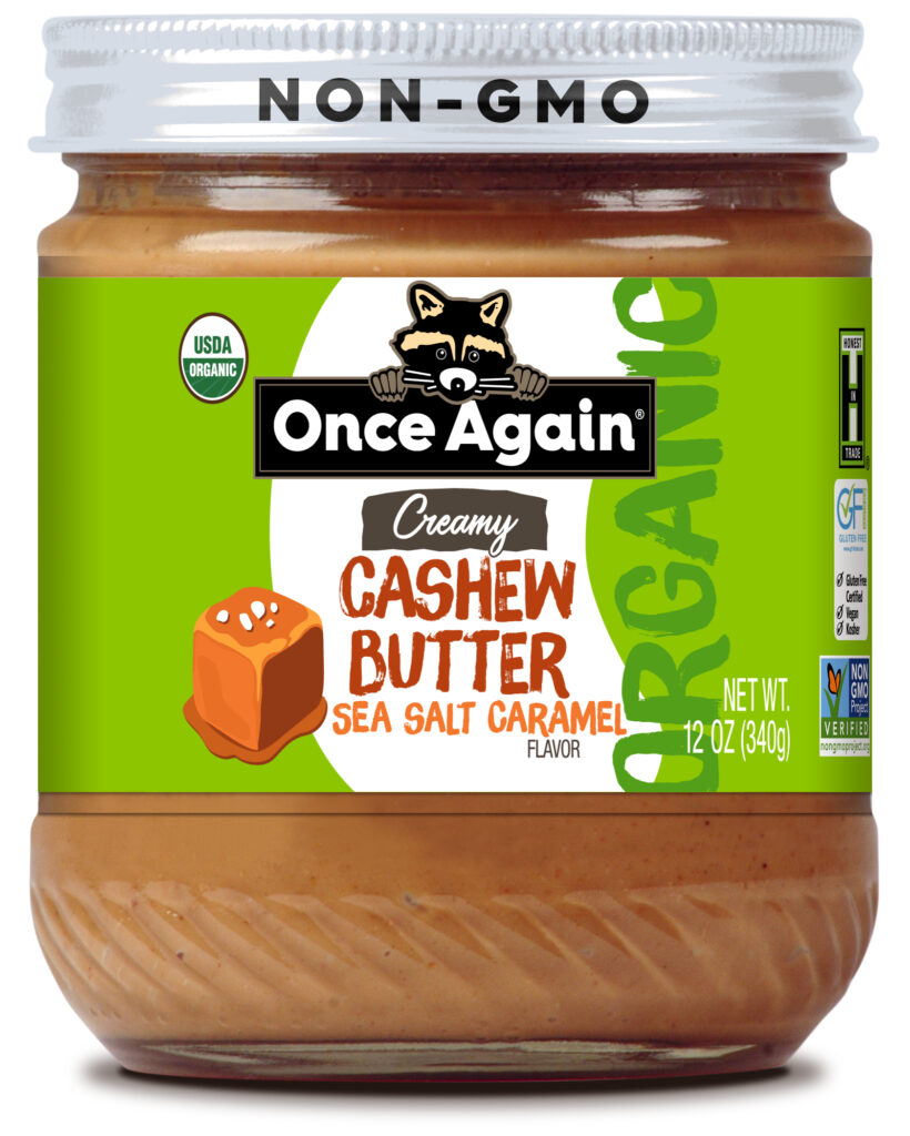 Cashew Butter with Sea Salt Caramel